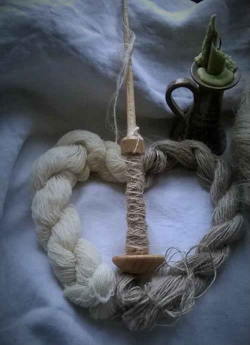 travail laine, filage lin, lin, métiers anciens